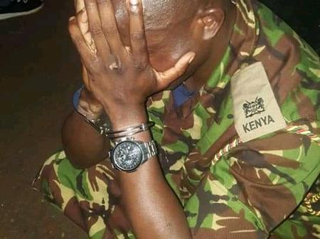 Crime Alert: 3 Men Nabbed With A Fake KDF Calling Letter And Senior Military Attire In Kahawa West