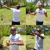 Maina Kageni Excites Kenyans With His Hunting Skills With