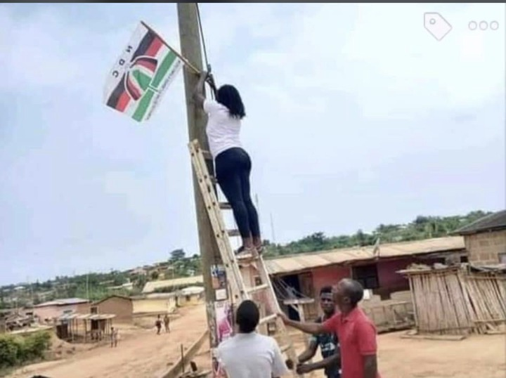 9581f28aec5708bff357a2ae7864d6d3?quality=uhq&resize=720 - I never knew NDC lady supporters union loved the party like this until I saw this woman doing this