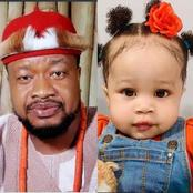 Remember The Nollywood Actor That Stayed 9-Years Before Having A Child? See How The Baby Looks Now