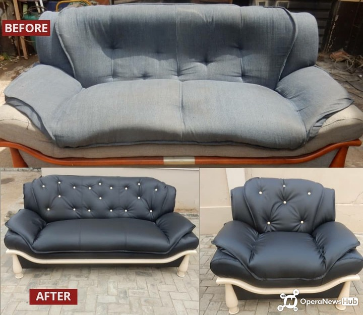 Why Throw Away Old Furniture When It