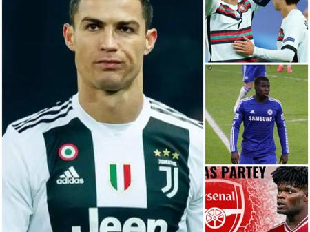 Latest News: Cristiano Ronaldo Tested Positive To Covid-19, Update On Arsenal New Signing And Others