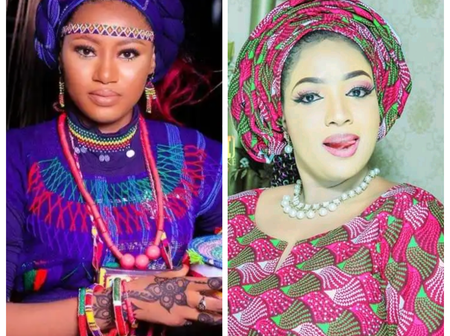 The Recent Pictures Of Kannywood Actresses, Momee Gombe And Maryam Gidado.