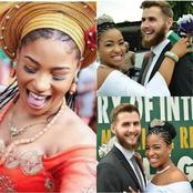 Meet This Young Nigerian Actress Who Is Married To A Handsome British Man. See Their Lovely Photos