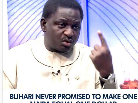 Buhari never promised to make one Naira equal to one dollar- Femi Adesina (Video)