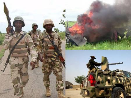 Gunmen attack army check point in Owerri, vehicles burnt as soldiers reportedly flee