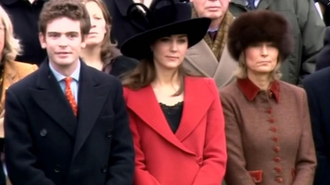 Kate's mum revels in grandmother role and admits to 'mucking around' with grandchildren