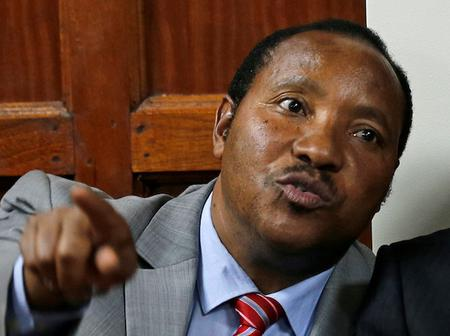 Is Ferdinand Waititu Making A Political Comeback After Being Seen Here?