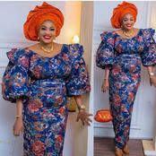 Ladies, Check Out These Latest Native Gown Styles You Can Wear And Look Very Charming