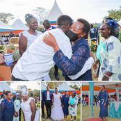 PHOTOS: Rachel Ruto's Plea to Couples After Attending a Wedding Ceremony in Trans-Nzoia