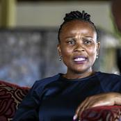 Parliament will clear me of alleged wrongdoing, says Mkhwebane
