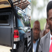 Bobi Wine Finally Breaks Silence Via His Lawyer as His Bullet Proof Car Storm Widens