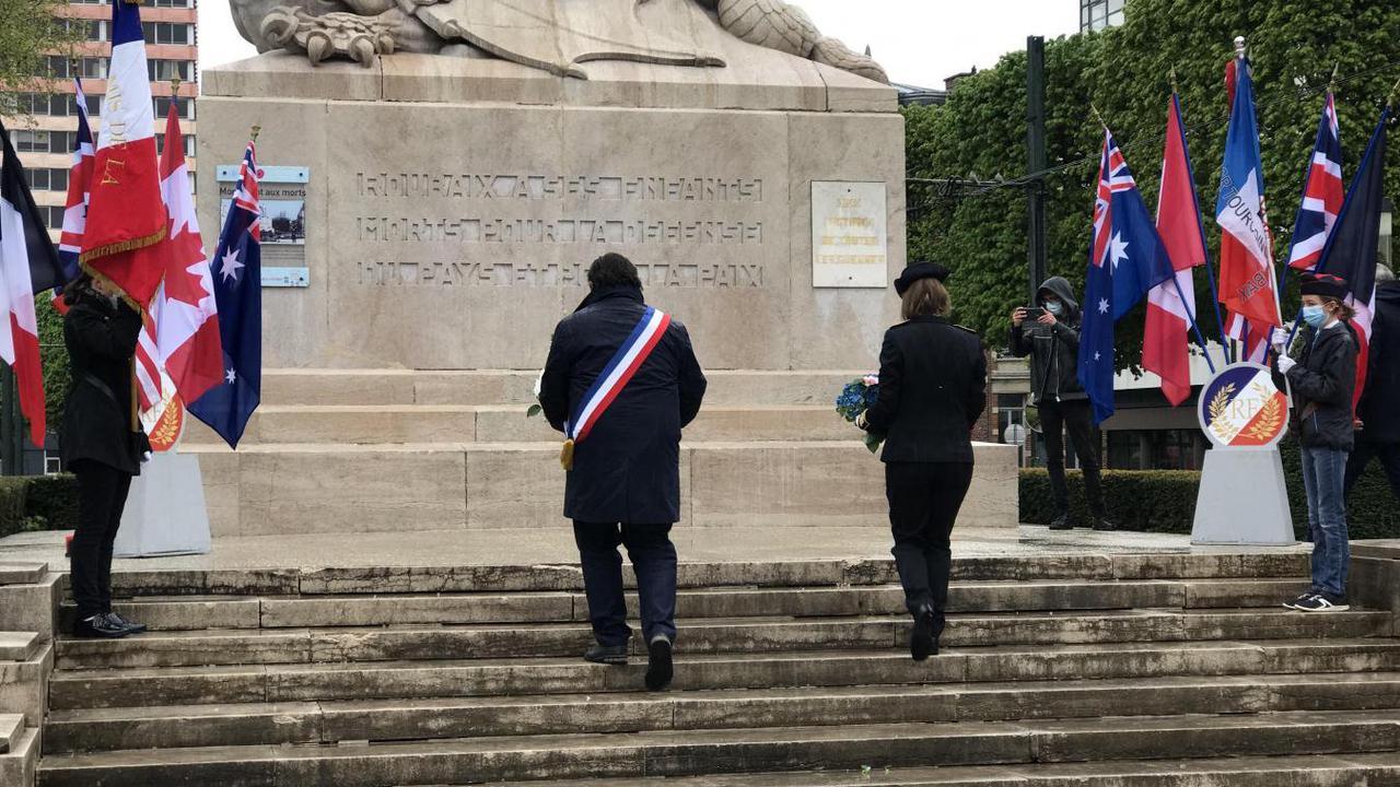 Roubaix: le monde d'après et la relève, mis en avant à la cérémonie du 8-Mai
