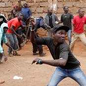 23 Men Land In Trouble After Allegedly Throwing Stones at Cops After Doing This
