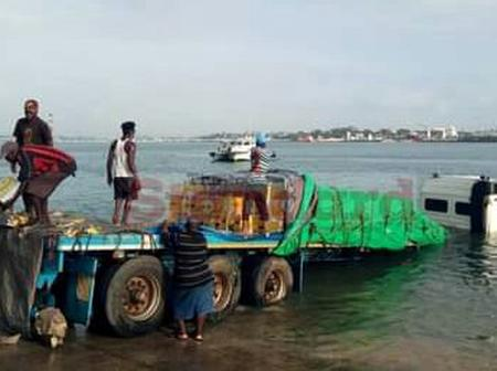 Sad Kenyans React As Another Vehicle Plunge Into Indian Ocean In Span of 4 Days