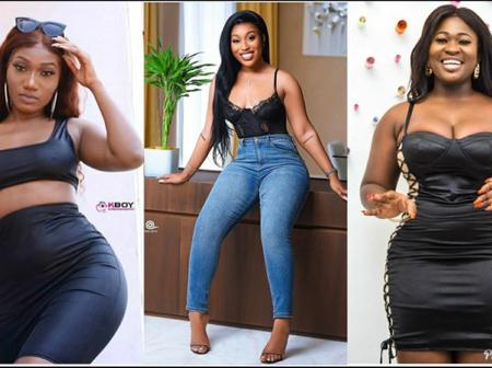 Wendey Shey And Sister Afia's True Curves Raises Stares As Who Has Got More Natural Curves