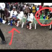See What Was Spotted On The Protest Ground In Lekki Which Has Got People Talking On Social Media.