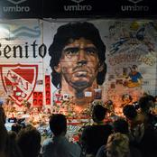 زوجة مارادونا السابقة تفاجىء العالم باختطاف الأسطورة قبل وفاته ..والكشف عن التفاصيل والمتهم
