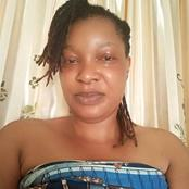Mixed Reactions As Beautiful Woman Ties Wrapper On Facebook