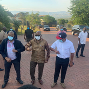 Zuma, Magashule's Meeting Ends In High Spirits