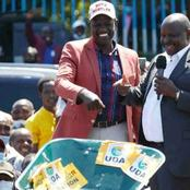 Ruto Makes First Public Appearance Amid Trolls After Being 'Humiliated' In Western(Photos)
