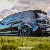 Awesome pimped out Golf 6 GTI's that look amazing