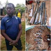 Dabou : un individu, avec des armes, débusqué par la population ? Voici toute la vérité