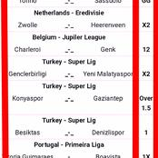 Friday Seven Correct Score(CS) Both Teams to Score & Over 2.5 Goals To On i.e Besikitas, Torino