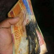 If your money is burn or eaten by rats, this is what you should do