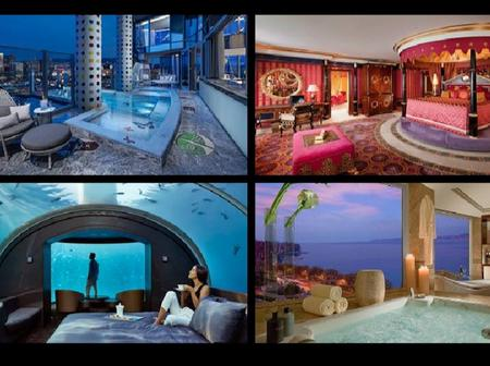 10 most expensive hotel suites in the world, costs about N50million per night (see photos)