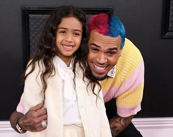 Awe Inspiring Chris Browns Daughter Royalty Designs Dope Cake For His 31St Personalised Birthday Cards Paralily Jamesorg