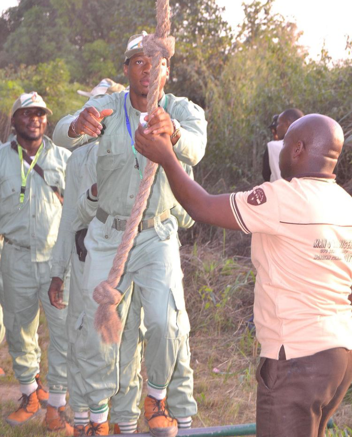 Check Out Pictures Of Ultimate Love Star, Iyke During His NYSC 14