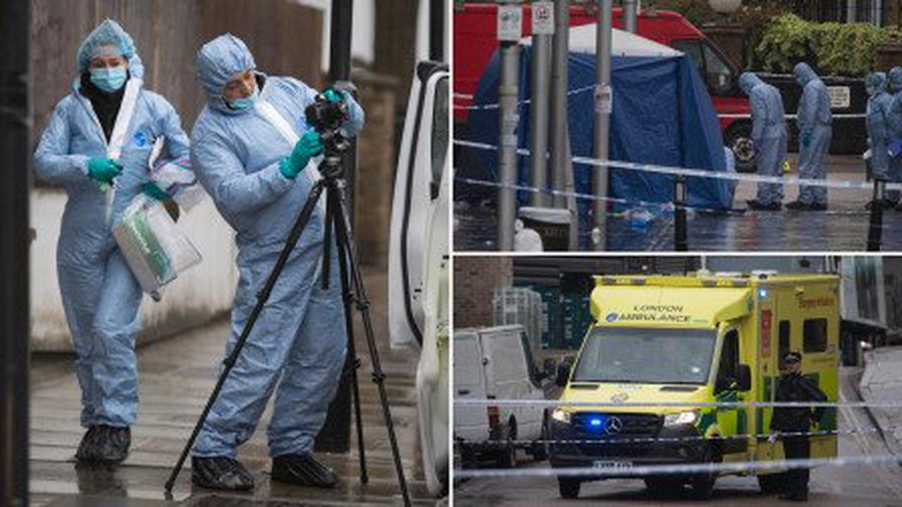 Man dies as shots fired and teen stabbed to death in night of violence in London