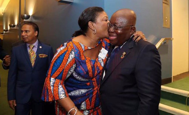 96447a4956e3400888eb55fe2c127cf9?quality=uhq&resize=720 - Madam Rebecca Akufo-Addo Share What She Got On Valentine's Day From Her Husband With An Appreciation