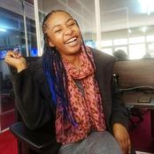 Lovely Photos Of Citizen TV Mashrima Kapombe Without A Wig