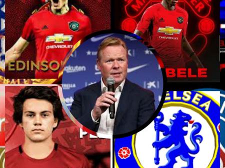 New Star Joins Man UTD, Chelsea Rejects £70m Offer As Koeman Makes Dembele Final Decision To Man UTD