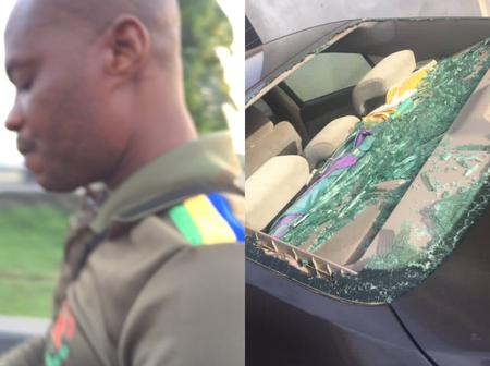 Man Narrates How He Was Manhandled By A Mobile Police Officer In Lagos