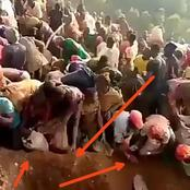 Video: Checkout The Biggest Surprise Congolese Villagers Discovered On A Mountain