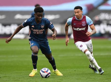 Bukayo Saka on Lingard's Arsenal Transfer Links