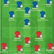 Manchester United Best Predicted Lineup That Will Secure 3 Points Against Chelsea At Old Trafford