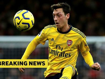 England star speaks on Ozil's situation at Arsenal