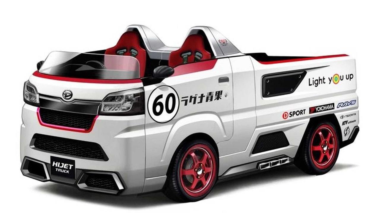 Daihatsu's Custom Kei Cars for the 2021 Tokyo Auto Salon Are Delightfully Nuts