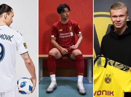 Complete List Of Players Signed By All The Champions League Clubs
