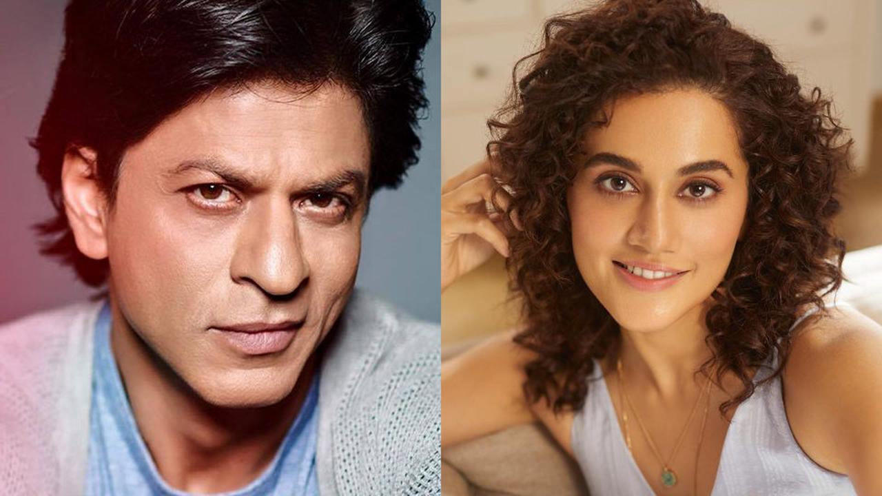Shah Rukh Khan, Taapsee Pannu To Be Seen Together For The First Time In Rajkumar Hirani's Social Drama