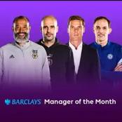 Premier League manager of the month - Chelsea and Manchester City managers selected for the award
