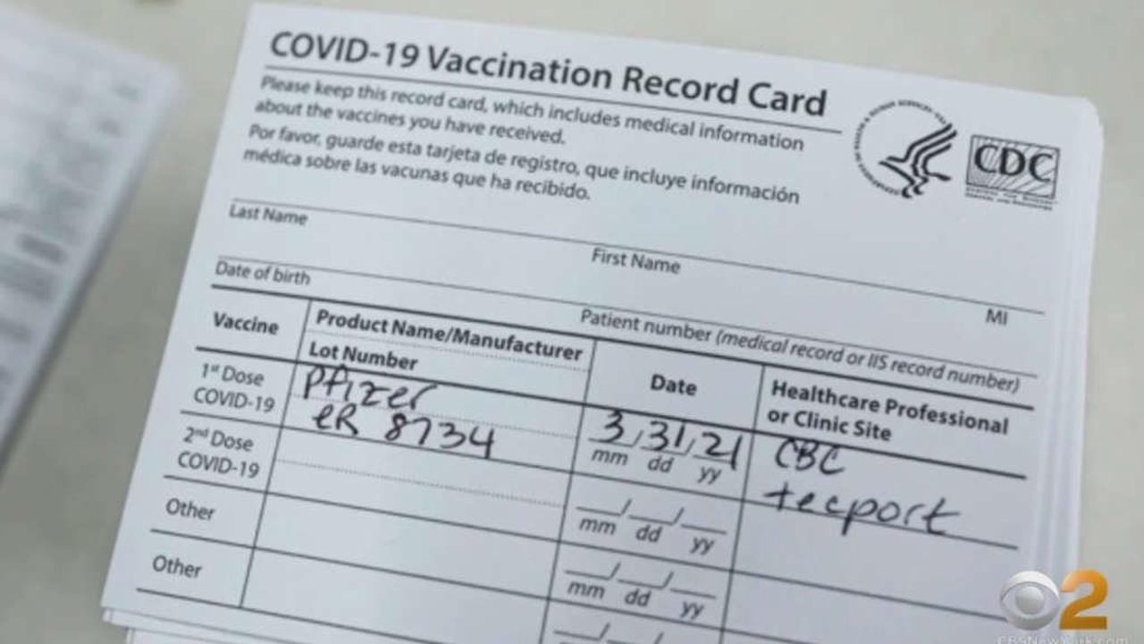 Long Island Resident Zachary Honig Accused Of Stealing And Forging COVID-19 Vaccination Cards