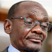 Zimbabwe second Vice president Kembo Mohadi resigns