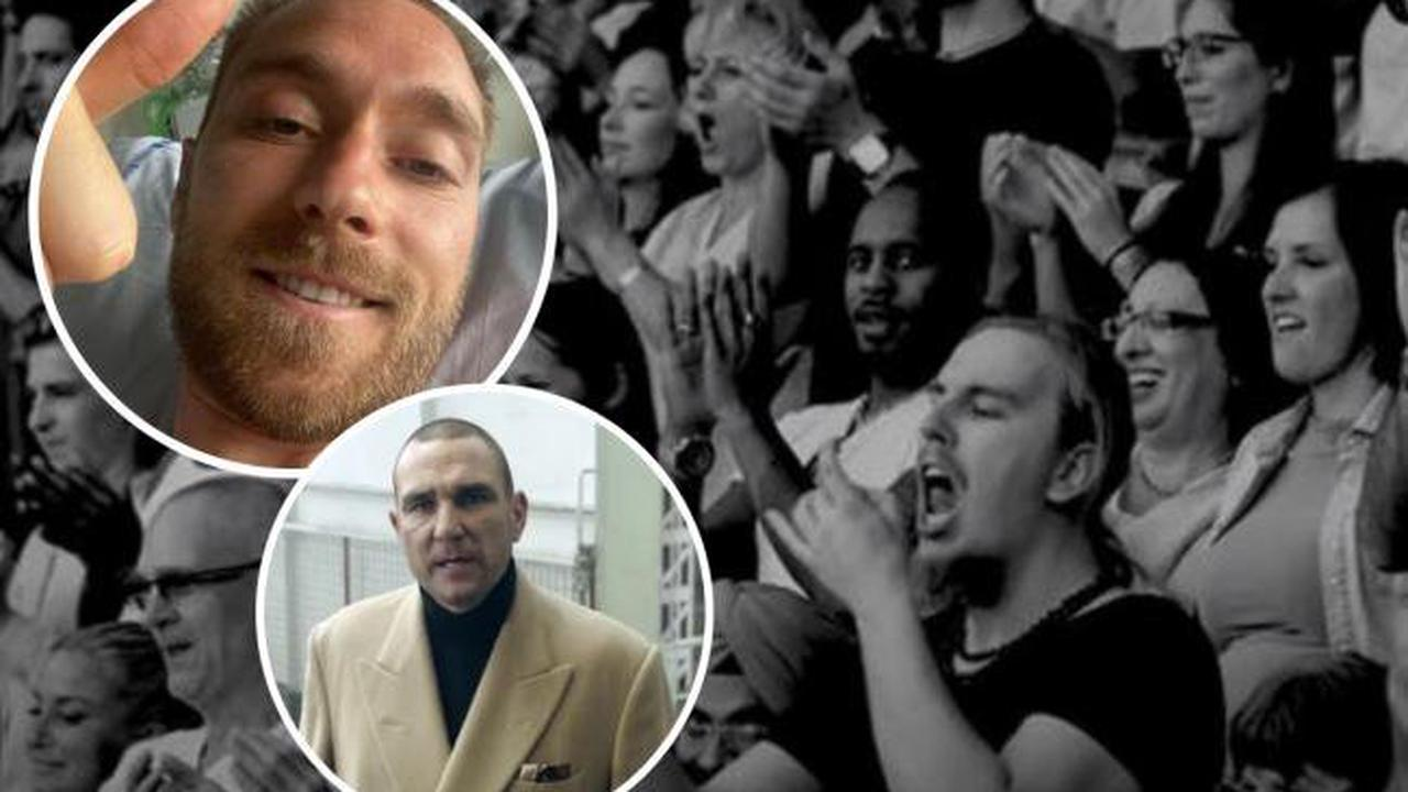 Vinnie Jones and British Heart Foundation urge everyone in UK to learn CPR after Christian Eriksen collapse