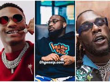 Davido, Wizkid, And Burna Boy, Who Among This Three Musicians Is Your Favorite? (Photos)