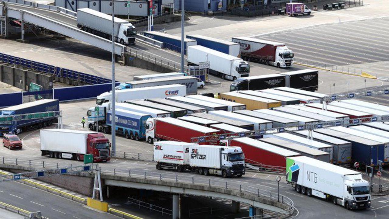 Brexit-FolgenLondon bietet Tausenden Lkw-Fahrern Arbeitsvisa an